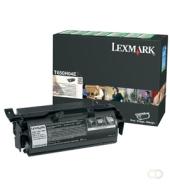 LEXMARK T65X tonercartridge zwart standard capacity 25.000 pagina's 1-pack return program label cartridge