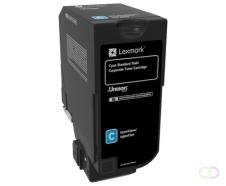 LEXMARK Toner Corporate Cyan for CS720 CS725 CX725 7k