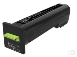 LEXMARK Toner Extra High Yield Return Program Black for CS820 CX820 CX825 CX860 33k