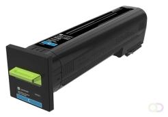 LEXMARK Toner Return Program Cyan for CS820 CX820 CX825 CX860 8k
