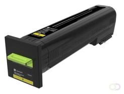 LEXMARK Toner Return Program Yellow for CS820 CX820 CX825 CX860 8k