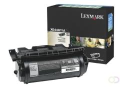 LEXMARK X642/X644/X646/T640/T642/T644 tonercartridge zwart high yield 1-pack Corporate