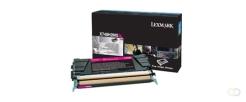 LEXMARK X748 10K tonercartridge magenta high capacity 10.000 pagina's 1-pack