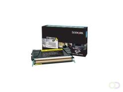 Lexmark X748H1YG Toner 10000pages Jaune cartouche toner et laser