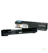 LEXMARK X950, X952, X954 tonercartridge zwart high capacity 32.000 pagina s 1-pack