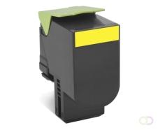 LEXMARK XC2132 tonercartridge geel standard capacity 3.000 pagina's 1-pack