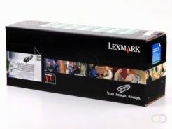 LEXMARK XS734de, CS736dn, XS736de toner zwart standard capacity 12.000 pagina's 1-pack Return Programme