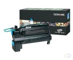 LEXMARK XS795, XS798 tonercartridge cyaan standard capacity 1-pack return program