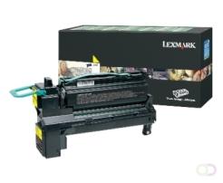 LEXMARK XS795, XS798 tonercartridge geel standard capacity 1-pack return program