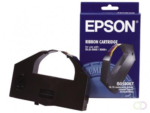 Lint Epson S015245 voor ERC38 nylon zwart/rood