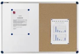 Nobo Classic Combibord Vilt/Gelakt Staal 1200x900mm