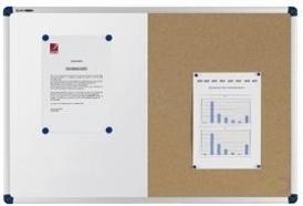 Nobo Classic Combibord Vilt/Gelakt Staal 900x600mm