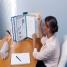 Nobo Pivodex Bureaustandaard Kunststof 10 Displaypanelen