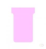 Nobo Printbare T-Kaarten Maat 2 Roze (20) papier voor inkjetprinter