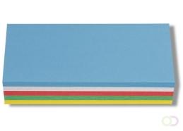 Nobo Rechthoekige Kaarten 20,5x9,5cm (250)