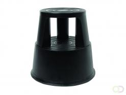 Opstapkruk Quantore 42cm kunststof zwart