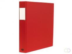 Ringband Multo Esprit 23R A4 25mm D-mech rood