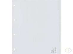 Tabbladen Kangaro 4-gaats G405F-B 5-delig+venster breed PP