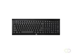 Toetsenbord HP K2500 QWERTY draadloos zwart