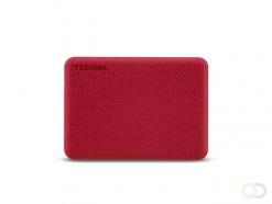 Toshiba Canvio Advance externe harde schijf 2000 GB Rood