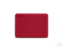Toshiba Canvio Advance externe harde schijf 4000 GB Rood