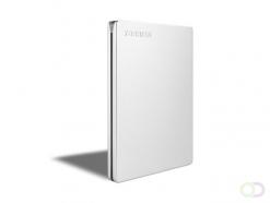 Toshiba Canvio Slim externe harde schijf 1000 GB Zilver