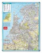 Wegenkaart Nobo nederland